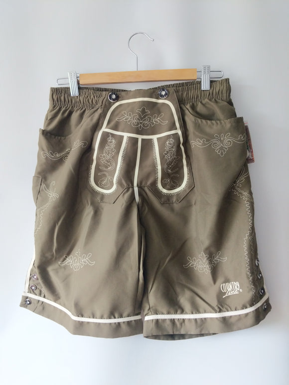 Lederhosen Swim Trunks