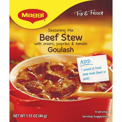 Maggi Gulasch, ( Beef Stew) Made in Germany