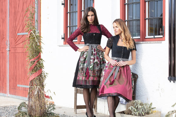 Copy of Country Line Dirndl Blouse 18/19 Left