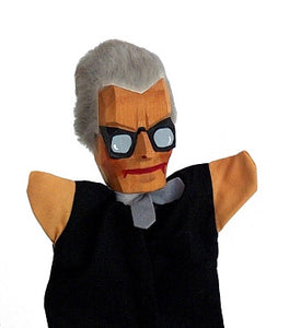 Lotte Sievers Hahn Teacher Hand Carved Glove Hand Puppet