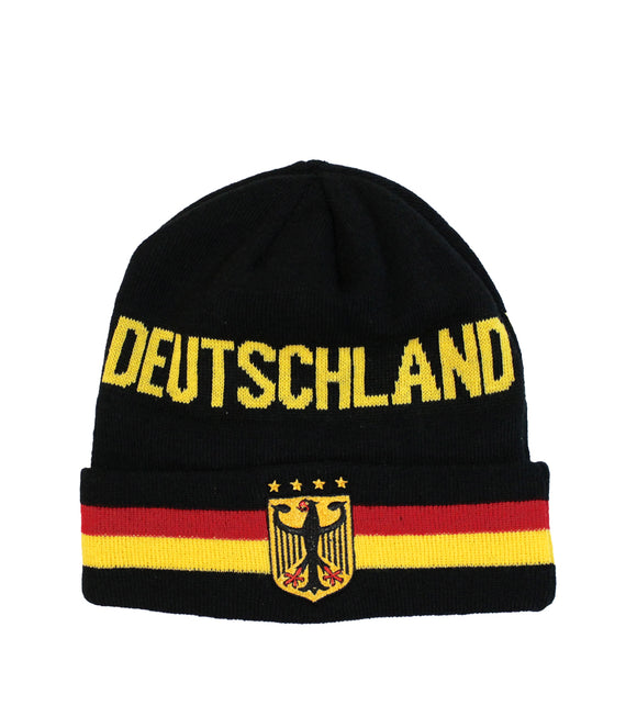 Deutschland  / Germany knitted Beanie Hat