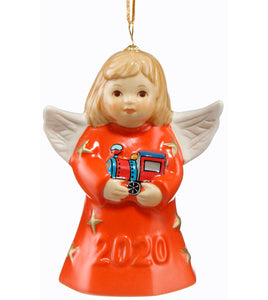 2020 Goebel Annual Angel Bell  Living Coral