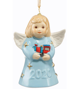 2020 Goebel Annual Angel Bell  Pastel Blue