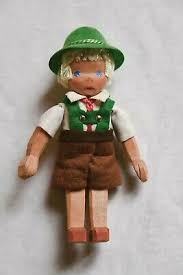9320 Lotte Sievers Hahn Trachten Doll Bavarian/Tirolian  Boy with Lederhosen