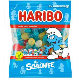 German Haribo Die Schluempfe the Smurfs