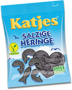 Katjes Salzige Heringe Salty Herring Licorice
