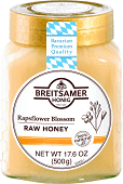 Breitsamer Rapsflower Blossom Raw Honey