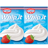 Dr. Oetker  Whip it  Stabilizer 0.35 oz for Whipping Cream Double bag
