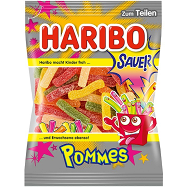 German Haribo Sauer Pommes Sour Candy