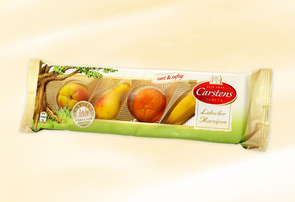 Marzipan Sweat Fruits Carstens Luebecker Marzipan , since 1845