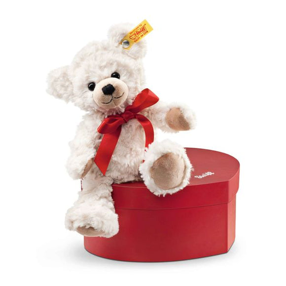 Steiff 109904 Teddy Bear Sweetheart 22 in Heart Box