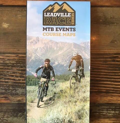 Leadville Trail 100 MTB and Silver Rush 50 MTB Map - Folded