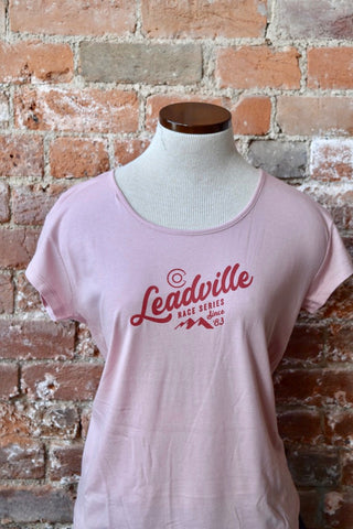 Leadville Race Series Origin Tee - Rose Quartz
