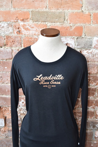 Leadville Flowy Long-Sleeve Tee - Black