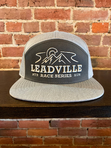7 Panel LRS Stitch Trucker - Grey
