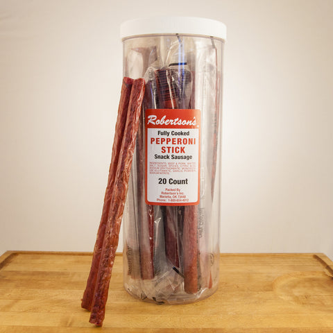 Summer sausage snack sticks