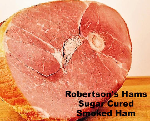 Robertson's Sugar Cured Smoke Hams - Delicious Ham for Family dinner and Holidays