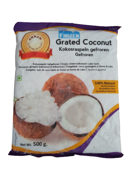 Annam Frozen Grated Coconut