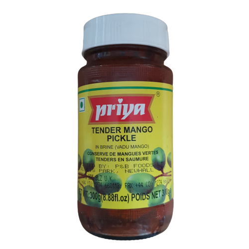 Priya Tender Mango Pickle Without Garlic