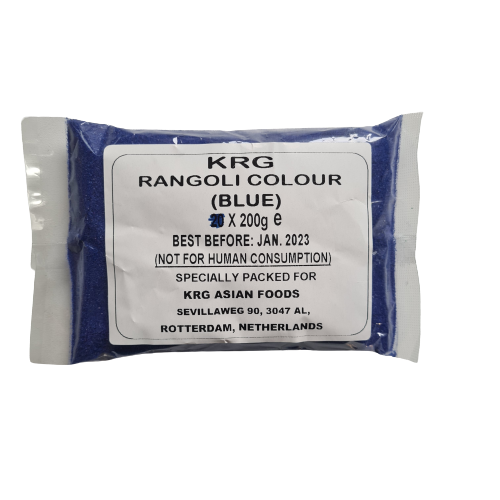 Rangoli Colour-Blue