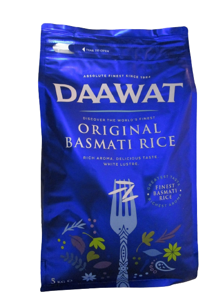 Daawat Basmati Rice Blue