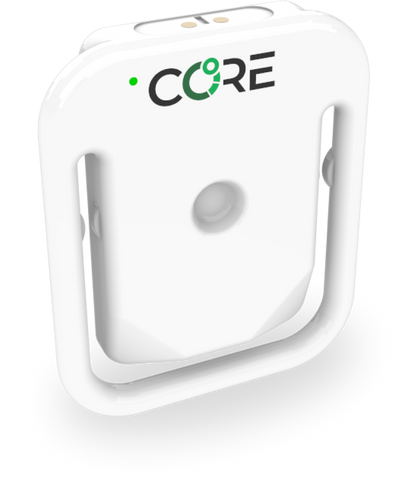 CORE, a new device for continuos core body temperature monitoring