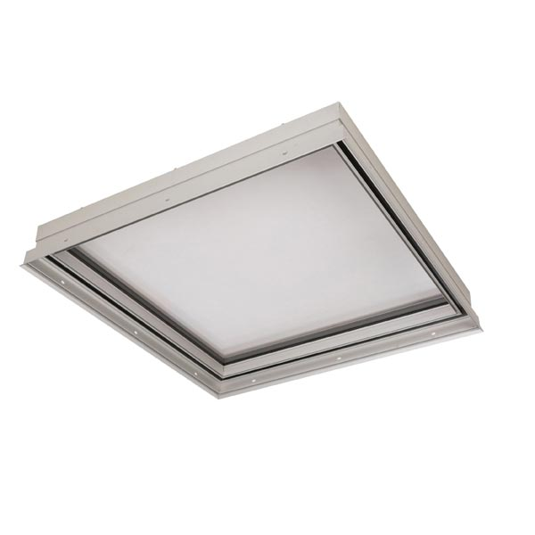 Auburn® pre-assembled single slope glass skylights