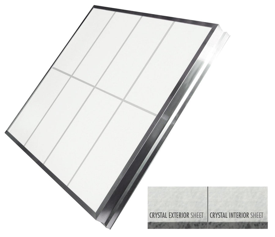 LightBasic™ Quick Ship™ Skylight - Crystal/Crystal