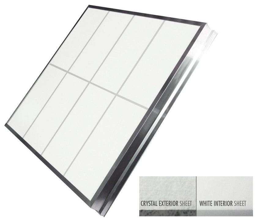 LightBasic™ Quick Ship™ Skylight - Crystal/White
