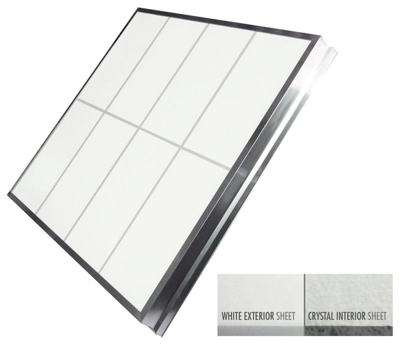 LightBasic™ Quick Ship™ Skylight - White/Crystal