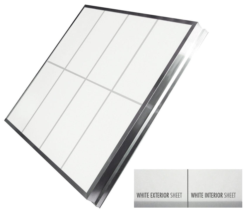 LightBasic™ Quick Ship™ Skylight - White/White