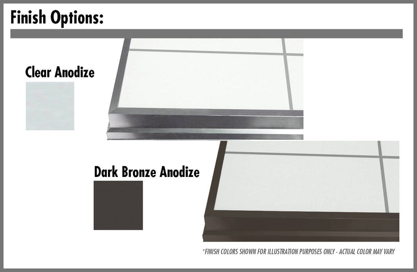 LightBasic™ Finish Options