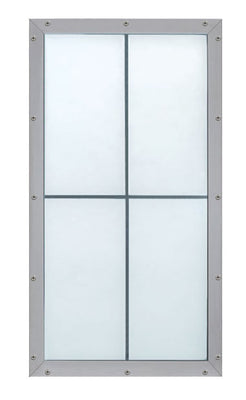LightBasic™ Pre-assembled Wall Systems - (Crystal Exterior/White Interior)