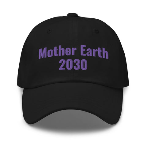 Mother Earth 2030 Hat Violet
