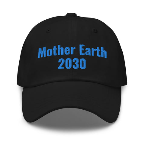 Mother Earth 2030 Hat Aqua