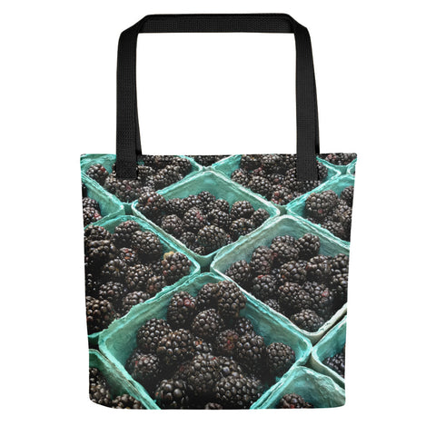 Stylish Blackberries Tote