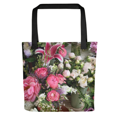 Stylish Flower Shop Tote