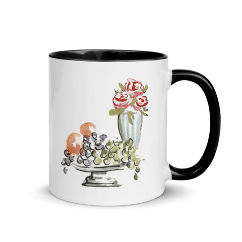 Fruit & Flowers Mug