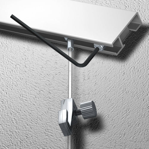 Sloping Ceiling Stopper - Artiteq Picture Hanging Systems