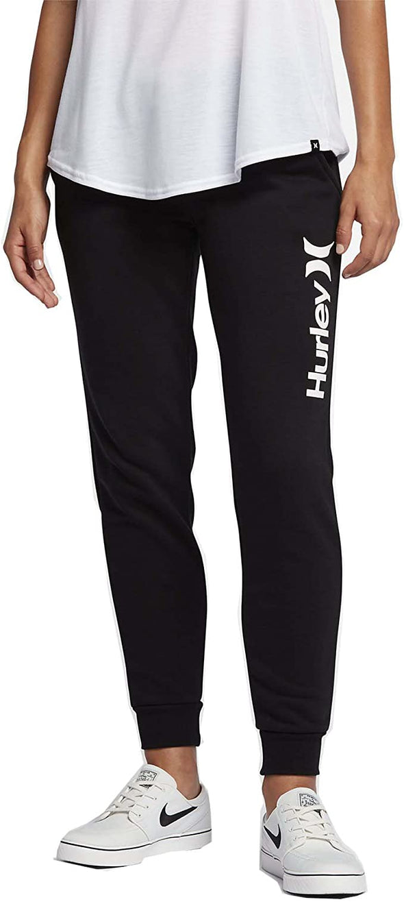 Hurley Women One & Only Pop Fleece Track Pants GFB0000170 - The Smooth Shop