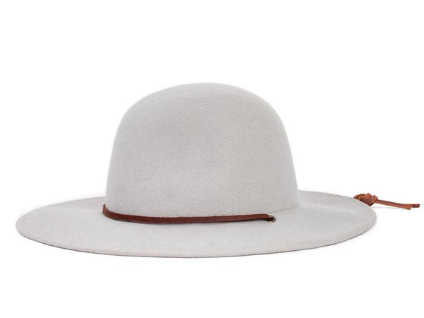 Brixton Mens Tiller Hat 00104, Silver, XS - The Smooth Shop