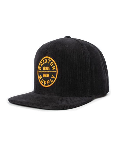 Brixton Mens Oath III Snapback 00173 - The Smooth Shop