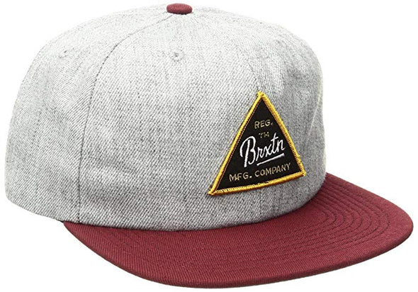 Brixton Cue Snapback Hat 00607 - The Smooth Shop