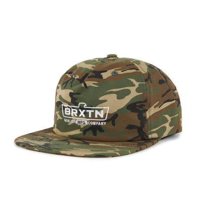 Brixton Mens Cruss MP Snapback Hat 00987 - The Smooth Shop