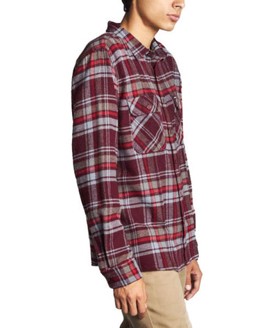 Brixton Mens Archie Long Sleeve Flannel 01023 - The Smooth Shop