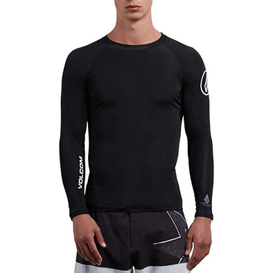 Volcom Mens Lido Solid Long Sleeve Rashguard N0311800 - The Smooth Shop