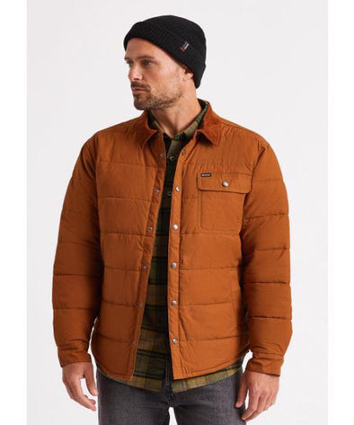 Brixton Mens Cass Jacket, Copper, M - The Smooth Shop