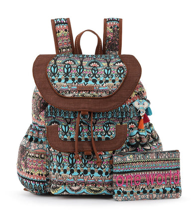 Sakroots Womens Flap Backpack 105804 - The Smooth Shop