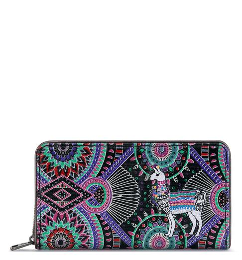 Sakroots Womens Artist Circle Extra Large Wallet - The Smooth Shop