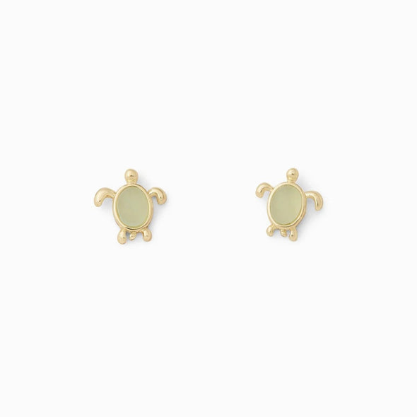 Pura Vida Womens Sea Turtle Stud Earrings - The Smooth Shop
